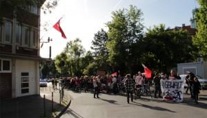 Demo vor dem türkischen Konsulat