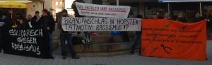 Foto der Kundgebung